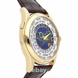 Patek Philippe Complications World Time Yellow Gold Auto 39.5mm Watch 5131J-001