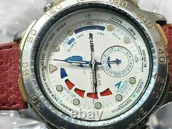 RARE 1992 Citizen WR100 America's Cup Yacht Men's Multi-Function Watch