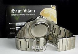 ROLEX 40mm Mens Stainless Steel Explorer II White Dial 16570 SANT BLANC