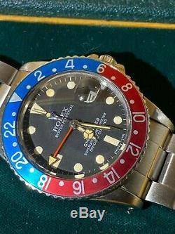 ROLEX GMT-MASTER PEPSI 16750 1982, stunning