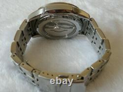 Rare Orient GMT Executive World Time Automatic Sapphire Crystal EY04-C0 CA Japan