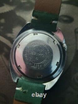 Rare Seiko Gmt World Time 6117-6400 Automatic Japan men's Watch