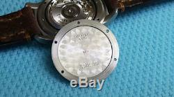 Rare Tiffany & Co GMT WORLD TIME Wristwatch Orologio swiss armbanduhr montre