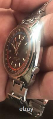 Rare Vintage 1970's Seiko 6117-6419 Navigator Timer GMT Automatic Watch