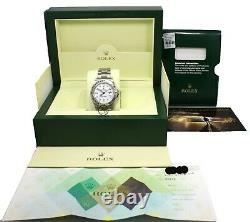 Rolex Explorer II 16570 GMT Oyster Date White Dial Box Papers Mint Condition