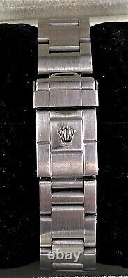 Rolex Explorer II 16570 GMT POLAR SEL Stainless Steel NO HOLES