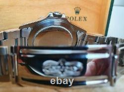 Rolex Explorer II Date White Dial Polar 16570 boxed