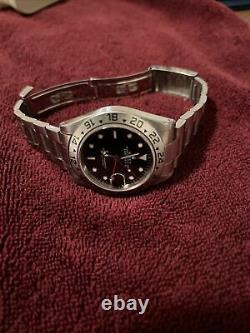 Rolex Explorer II GMT Stainless Steel Bracelet-Swiss Only Dial 16570