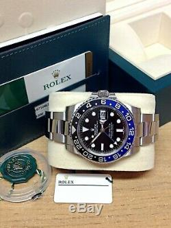 Rolex GMT Master II 116710BLNR Batman BOX AND PAPERWORK 2018