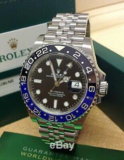 Rolex GMT Master II 126710BLNR Batman BOX AND PAPERWORK 2019 UNWORN