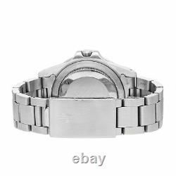 Rolex GMT-Master II Pepsi Spider Auto Steel Mens Oyster Bracelet Watch 16750