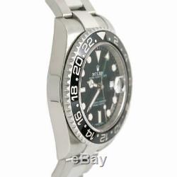 Rolex Gmt Master Ii 116710LN Steel 40.0mm Watch
