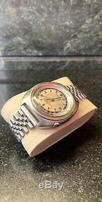 Seiko 1967 6117-6400 World Time Gmt Automatic