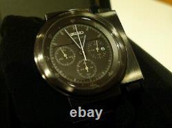 Seiko SCED051 Giugiaro Spirit Black 7T12 Limited 1000 chronograph Alien Ripley s
