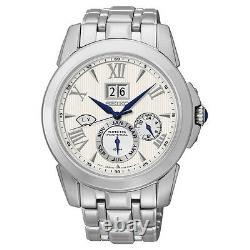Seiko SNP065 Kinetic Perpetual Calendar Le Grand Sport Men's Watch