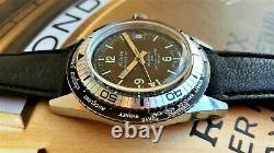 Sicura BREITLING GMT World Time RALLYE GT TRITIUM 200 vacuum TESTED OVERSIZE