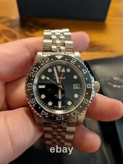 Squale 30 ATMOS Black GMT Ceramica 40mm in Mint Condition