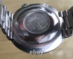 Tissot Super Compressor World Time T12 Navigator Cal 788 24 Hour Gmt Dial 1969