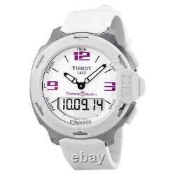 Tissot T-Race Analog Digital White Rubber Unisex Watch T0814201701700