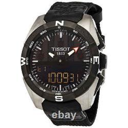 Tissot T-Touch Perpetual Alarm World Time Chronograph Quartz Analog-Digital