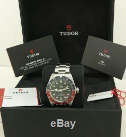 Tudor Ref 79830RB Steel 41mm In-House Auto Cal. MT5652 Black Bay Pepsi GMT
