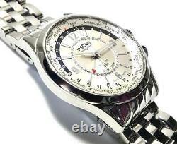 VULCAIN 100108.027 Aviator Cricket GMT Automatic / Manual winding Dial Silver