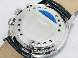 VULCAIN Cricket GMT 100108.142 WR100m/10ATM Manual 42mm OH + Genuine Box