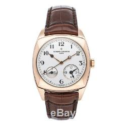 Vacheron Constantin Harmony Dual Time Auto Rose Gold Mens Watch 7810S/000G-B050