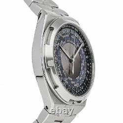 Vacheron Constantin Overseas World Time Auto Steel Mens Watch 7700V/110A-B172