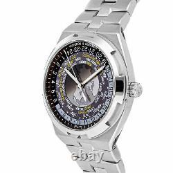 Vacheron Constantin Overseas World Time Auto Steel Mens Watch 7700V/110A-B176