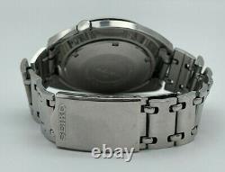 Vintage 1970 Men's SEIKO Navigator Timer Automatic GMT Watch, Serviced 6117-6410