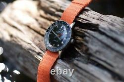Vintage 60s Zodiac Aerospace GMT Watch with lots of straps