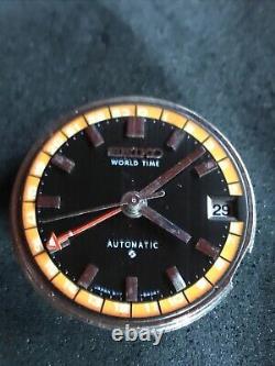 Vintage Seiko 6117 6400 World Time GMT