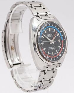 Vintage Seiko Navigator Timer Ref. 6117-6410 17j Wristwatch out of an Estate