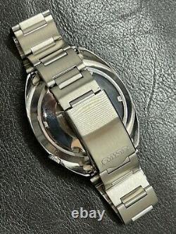 Vintage Seiko Navigator automatic 6117-6410 Black Dial With Bracelet GMT SS