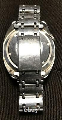 Vintage Seiko World Time GMT Automatic 6117-6409 Japan 41mm