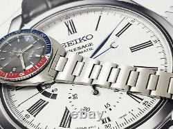 Vintage V RARE SEIKO NAVIGATOR 6117-8000 AUTOMATIC WATCH BLACK DIAL 24HR GMT