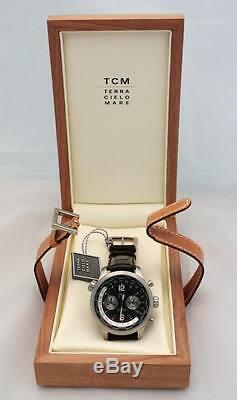 Watch Tcm Model' Chrono Gmt'Hours Time Machine World Automatic
